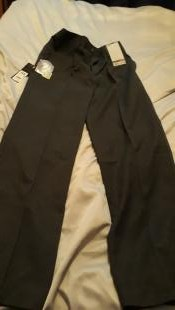 Boys Next School Trousers, Grey, 12 year old