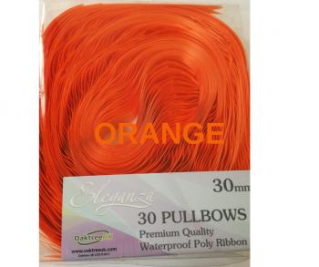 Ribbon Poly Pullbows Premium Various Colours 30mm X 30